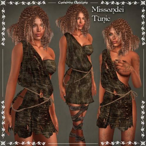 Missandei Tunic ~DARK~ by Caverna Obscura
