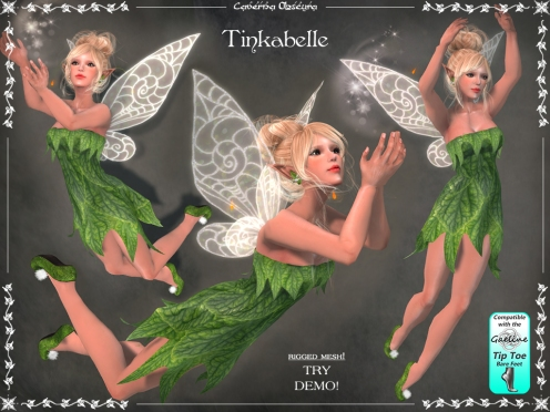 Tinkabelle Faerie Outfit by Caverna Obscura