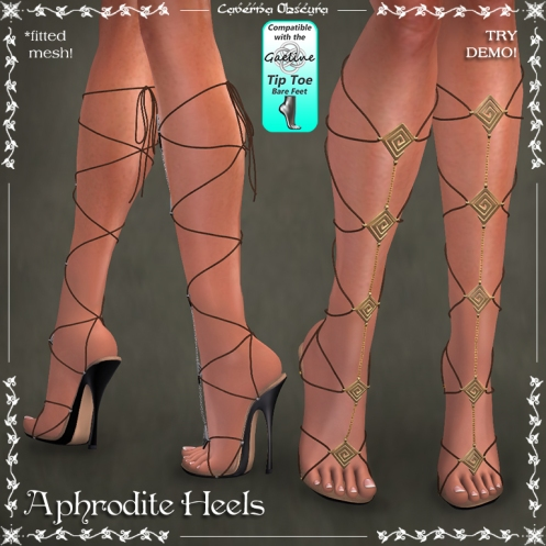 Aphrodite Heels by Caverna Obscura