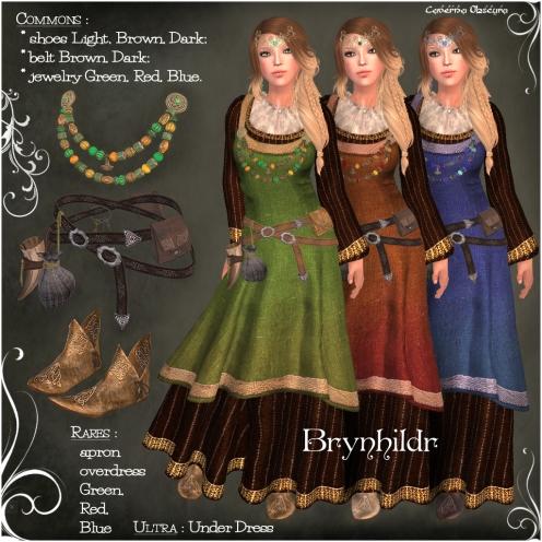 Gacha Brynhildr Outfit Items