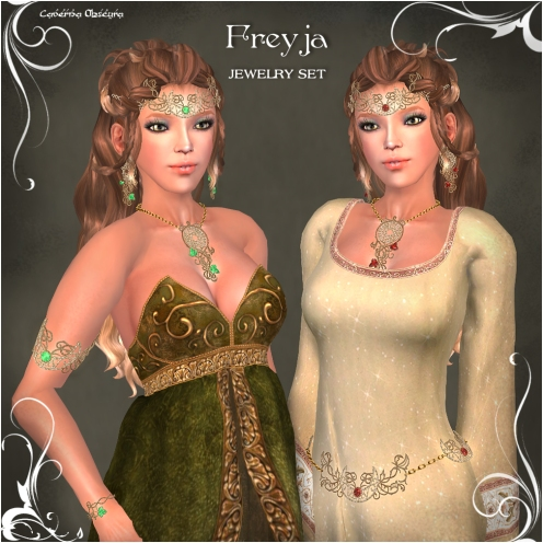 FGC Freyja Jewelry Set by Caverna Obscura