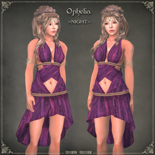 Ophelia Tunic ~NIGHT~ by Caverna Obscura