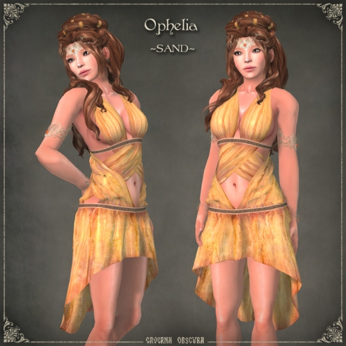 Ophelia Tunic ~SAND~ by Caverna Obscura