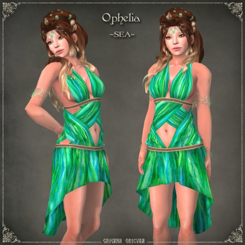 Ophelia Tunic ~SEA~ by Caverna Obscura