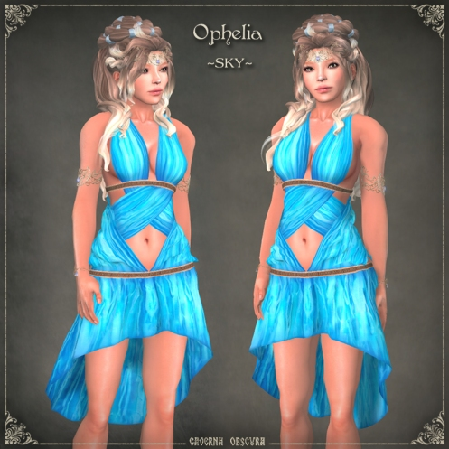 Ophelia Tunic ~SKY~ by Caverna Obscura