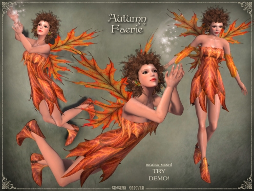Autumn Faerie Outfit by Caverna Obscura