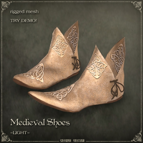 Medieval Shoes ~LIGHT~ by Caverna Obscura