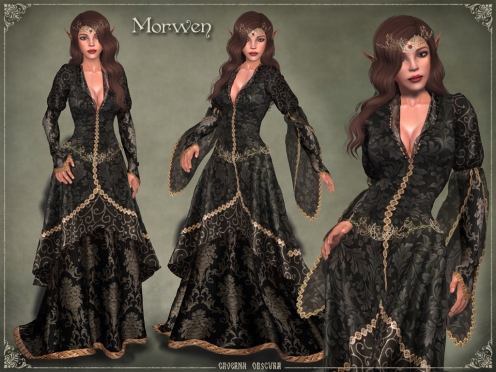 Morwen Gown by Caverna Obscura