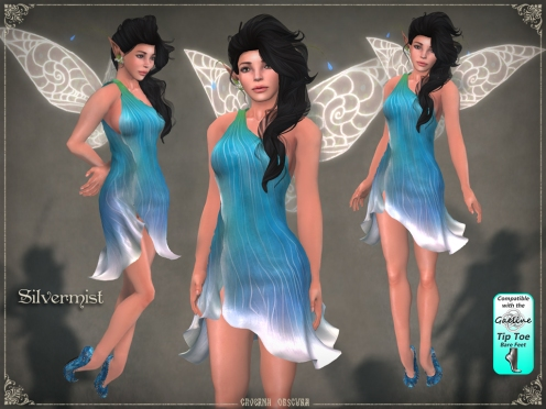 Silvermist Faerie by Caverna Obscura