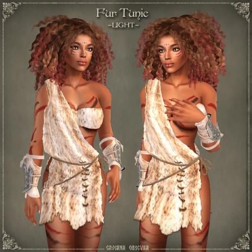 Fur Tunics ~LIGHT~ by Caverna Obscura