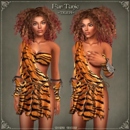Fur Tunics ~TIGER~ by Caverna Obscura