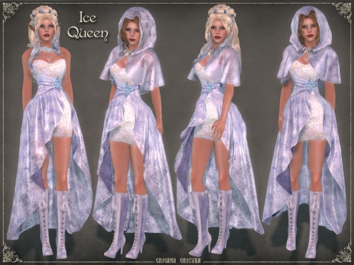 Ice Queen Outfit by Caverna Obscura