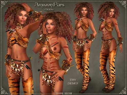 Amazon Furs ~TIGER~ by Caverna Obscura
