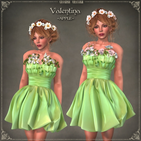 Valentina Dress ~APPLE~ by Caverna Obscura