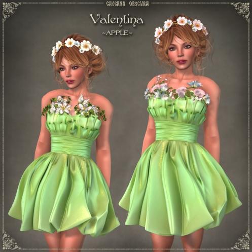 Valentina Dress ~APPLE~ by Caverna Obscura
