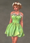Valentina Dress APPLE1