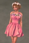 Valentina Dress ROSE1