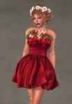 Valentina Dress SCARLET2