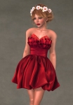 Valentina Dress SCARLET3
