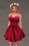 Valentina Dress SCARLET4