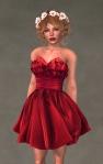 Valentina Dress SCARLET4