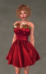 Valentina Dress SCARLET5