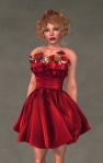 Valentina Dress SCARLET6