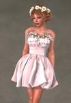 Valentina Dress VANILLA1