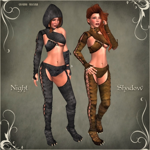 FGC Night Shadow Outfit by Caverna Obscura