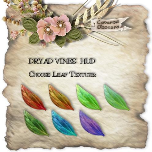 Dryad Vines HUD
