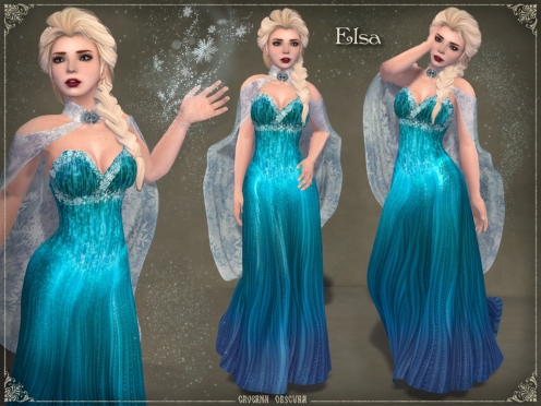 Elsa Gown by Caverna Obscura