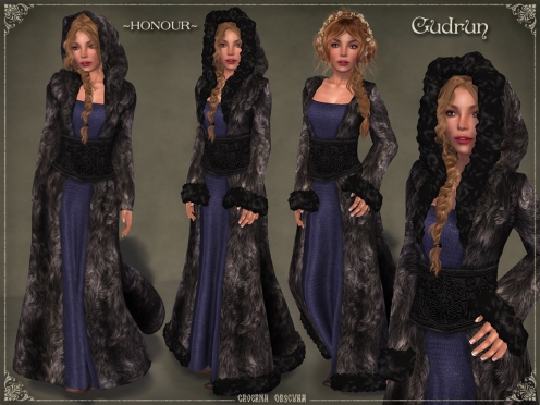 Gudrun Fur Coat *HONOUR* by Caverna Obscura