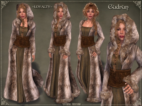 Gudrun Fur Coat *LOYALTY* by Caverna Obscura