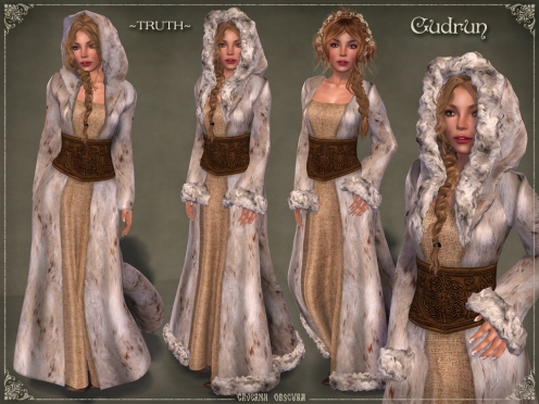 Gudrun Fur Coat *TRUTH* by Caverna Obscura