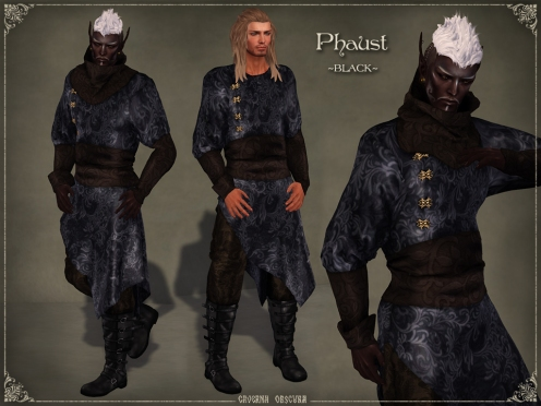 Phaust Outfit *BLACK* by Caverna Obscura