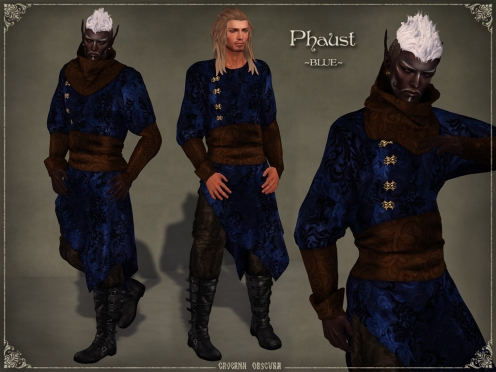 Phaust Outfit *BLUE* by Caverna Obscura