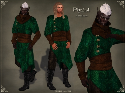 Phaust Outfit *GREEN* by Caverna Obscura