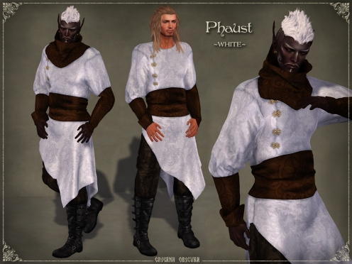 Phaust Outfit *WHITE* by Caverna Obscura