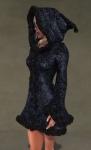 Faerie Winter Coat BLACK01