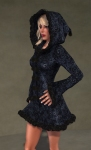 Faerie Winter Coat BLACK02