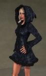 Faerie Winter Coat BLACK02