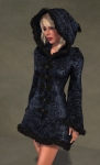 Faerie Winter Coat BLACK03
