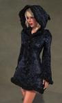 Faerie Winter Coat BLACK03