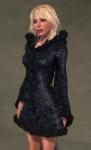 Faerie Winter Coat BLACK05