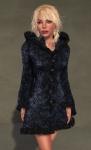 Faerie Winter Coat BLACK06