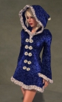 Faerie Winter Coat BLUE03