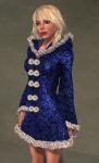 Faerie Winter Coat BLUE05