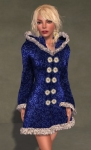 Faerie Winter Coat BLUE06