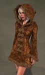 Faerie Winter Coat BROWN03