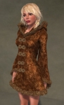 Faerie Winter Coat BROWN05